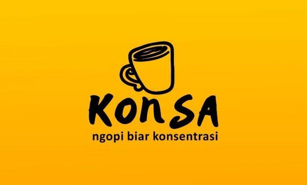 Jasa Logo Kedai Kopi untuk Konsa