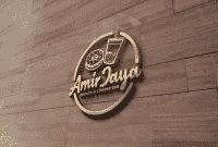 Jasa Logo Makanan & Minuman untuk Amir Jaya