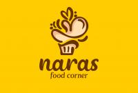 Logo Kue Untuk NARAS FOOD CORNER