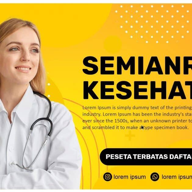 Download Template Banner Seminar Kesehatan CDR