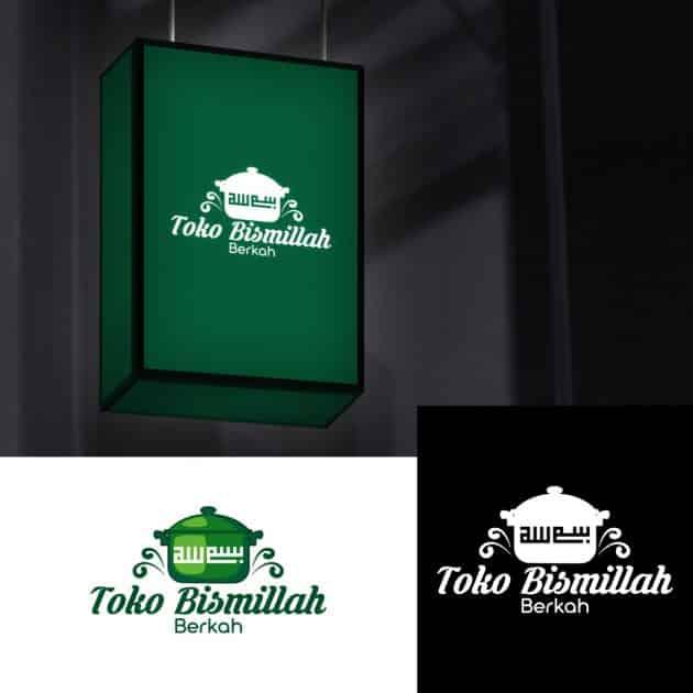 Jasa Desain Logo Toko Gerabah untuk Bismillah Berkah