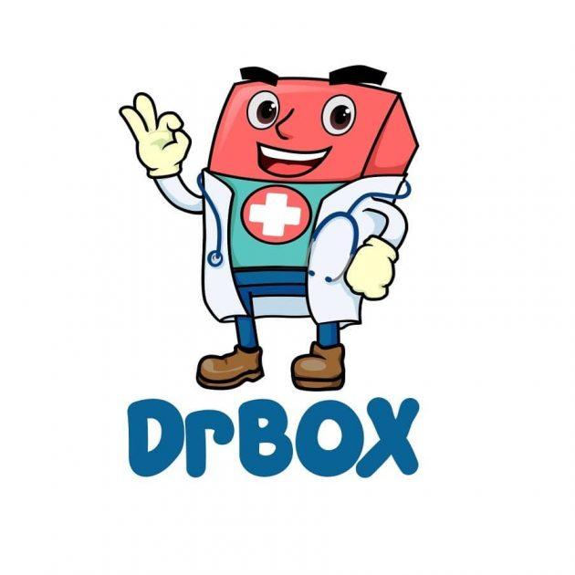desain logo maskot kesehatan