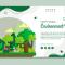 Banner Go Green Gratis Download CDR dan AI File
