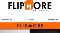 Jasa Desain Logo Bisnis Property untuk FLIPMORE
