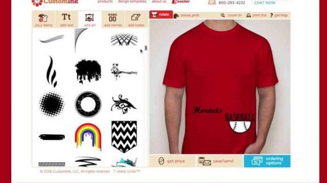 Desain Kaos dengan HP ANdroid