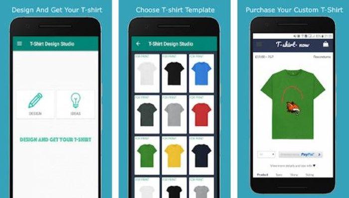 Aplikasi Desain Kaos di HP Android